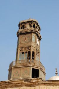 Torre dell'orologio nella Moschea di Mohamed Ali'